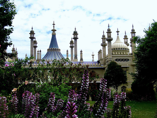 by JauntyJane on Flickr.The Royal Pavillion in Brighton - East Sussex, England.