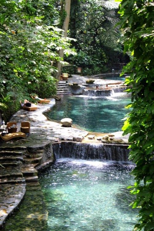 Waterfall Stream, Indonesia