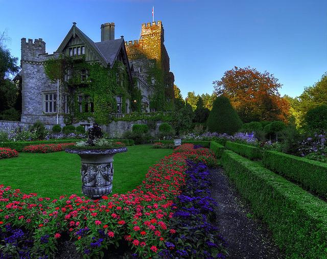 Hatley Castle on Vancouver Island, Canada