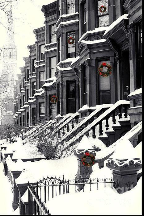 Snowy Day, Brooklyn, New York