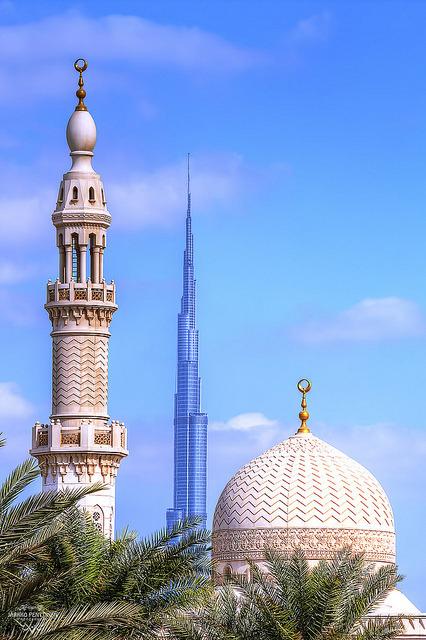 Reaching for the sky, Dubai, United Arab Emirates