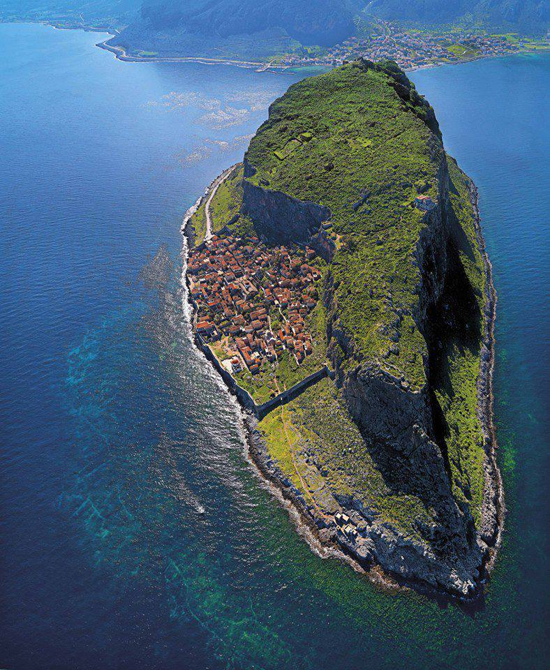 "tremblingcolors:"" Monemvasia, Peloponnese, Greece"""