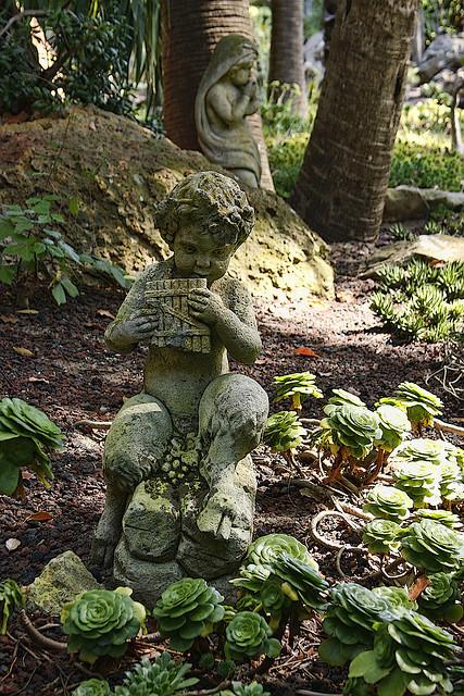 Lotusland botanical gardens in Montecito / California