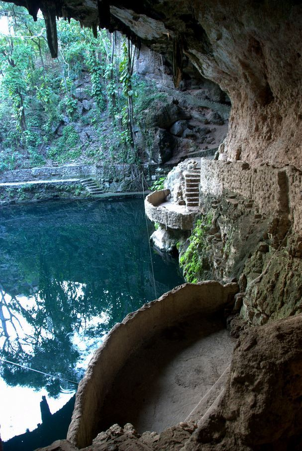 """""""Cenote Zaci, Yucatan Peninsula / Mexico ."""""""
