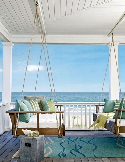 Seaside Porch, Outer Banks, North Carolina