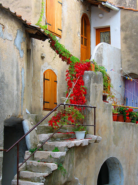 Flowered Entry, Croatia
