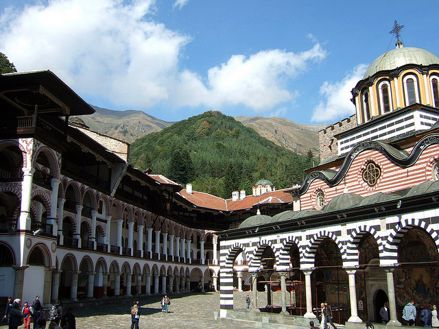 by Sheepdog Rex on Flickr.The Monastery of Saint Ivan of Rila, better known as the Rila Monastery is the largest and most famous Eastern Orthodox monastery in Bulgaria. Founded in the 10th century,...