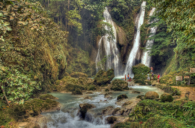 by joel blas on Flickr.Mag-aso Falls - Bohol Island, Philippines.
