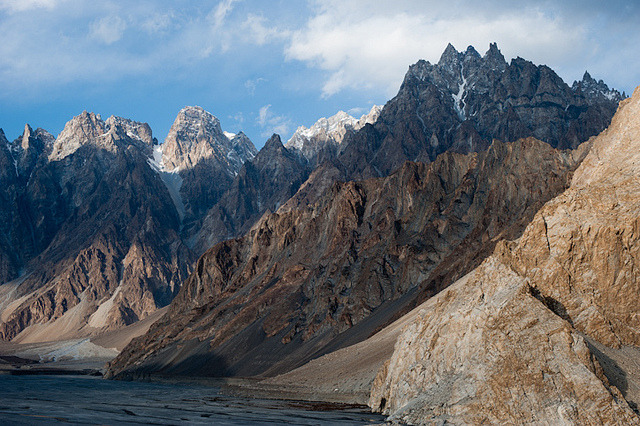 by Alex Treadway on Flickr.The Hunza Valley is a mountainous valley in the Gilgit-Baltistan region of Pakistan.