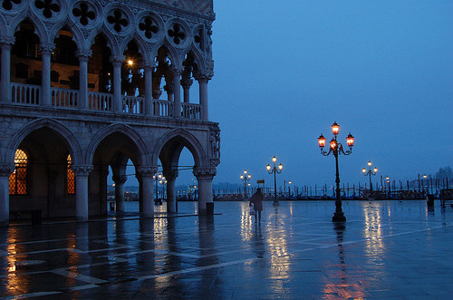 Rainy Morning, Venice, Italy