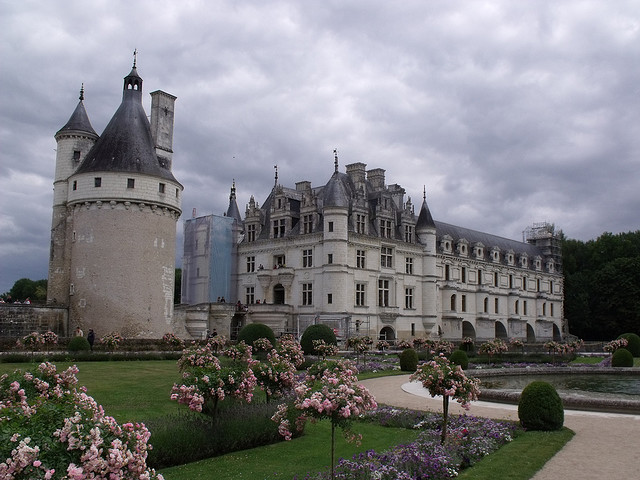 by ell brown on Flickr.Chenonceaux Castle, Loire Valley, France.
