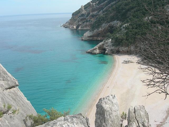 by deacriz on Flickr.Cala Sisine beach in eastern Sardinia, Italy.