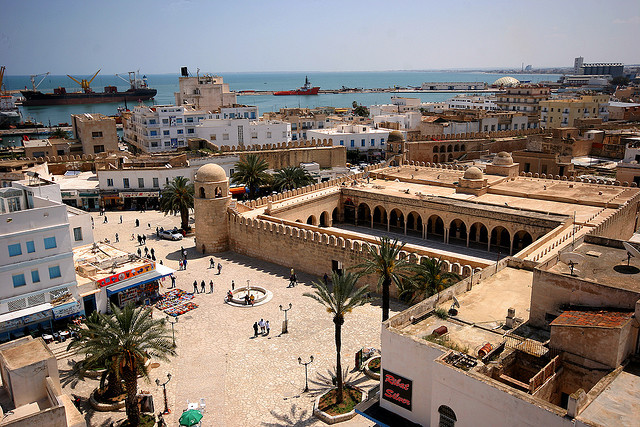 by curreyuk on Flickr.The classic shot of Sousse, taken from the Ribat, Tunisia.