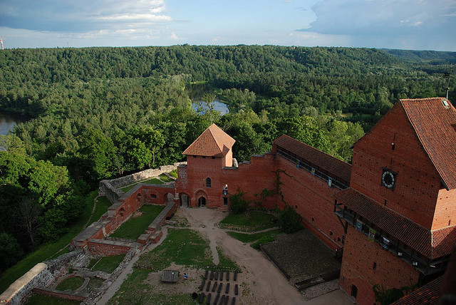 by Kate Dreyer on Flickr.Turaida Castle in Sigulda, Latvia.