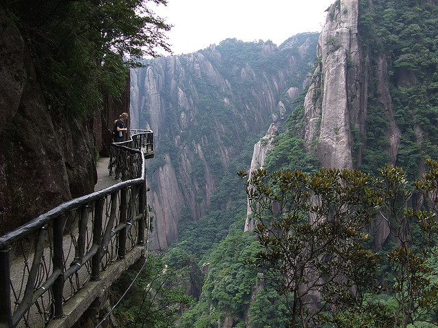 Sanqing mountain in Jiangxi province, China
