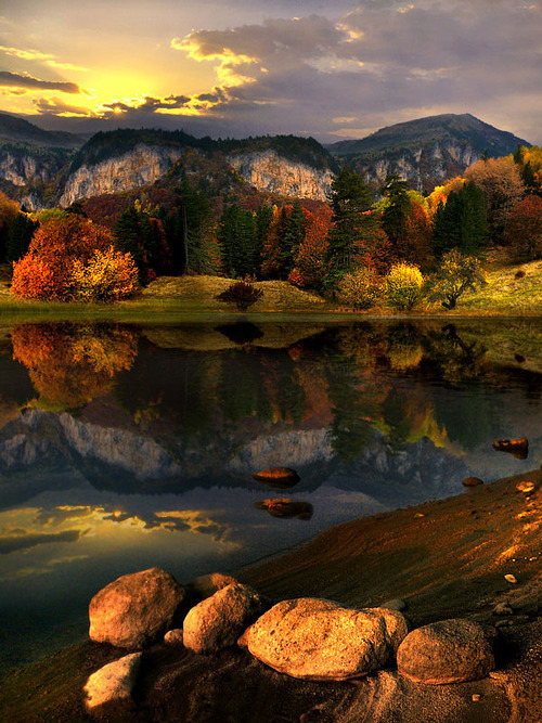 Mountain Lake, Bulgaria