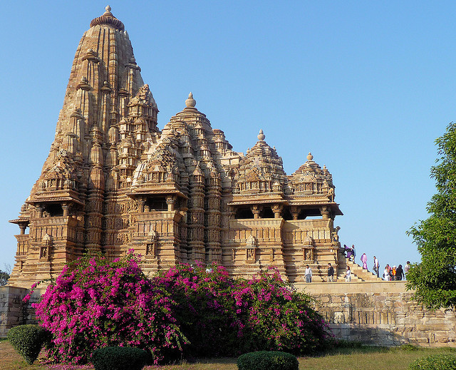 Kandariya-Mahadev Temple at Khajuraho, Madhya Pradesh, India