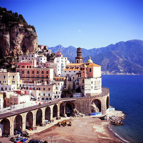 Seaside Village, Amalfi Coast, Italy
