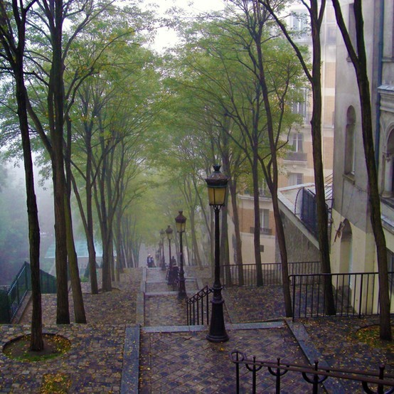 Rainy Day, Montmartre, Paris