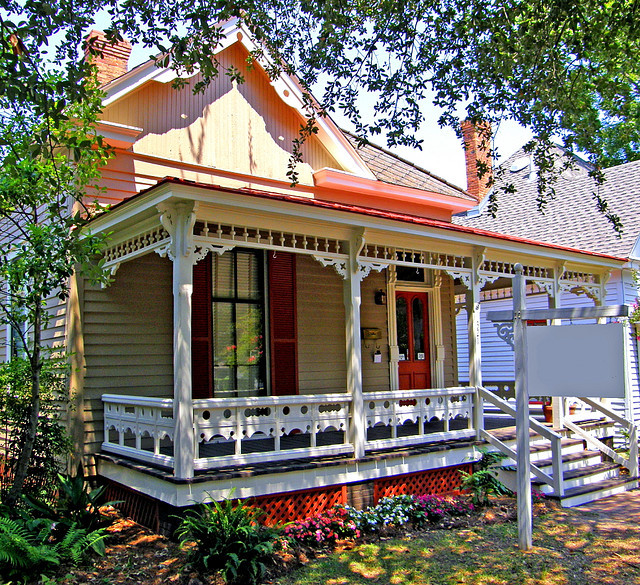 The Gingerbread cottage in Montgomery, Alabama, USA