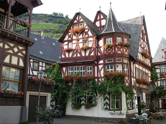 Charming towns of Rhine Valley, Bacharach, Germany
