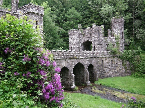 Ballysaggartmore Towers, Waterford, Ireland