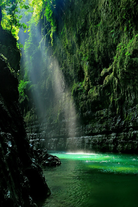 Green Canyon, West Java