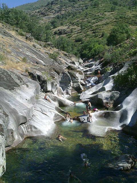 Summer time at Garganta de los Infiernos, Extremadura, Spain