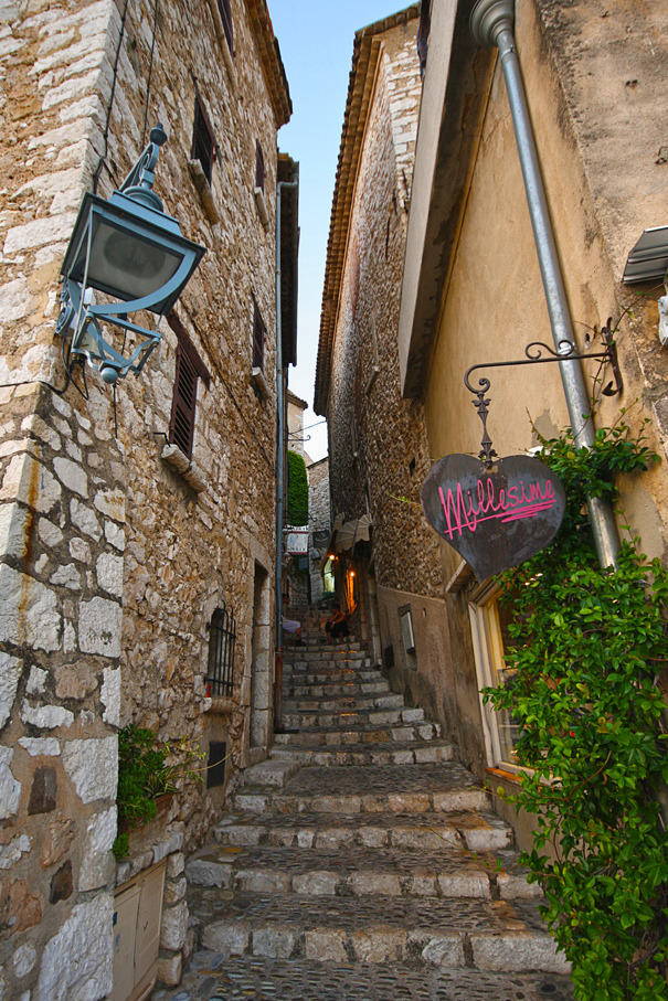 "traveling–soul:"" Beautiful town of Saint-Paul-de-Vence in southeastern France. """