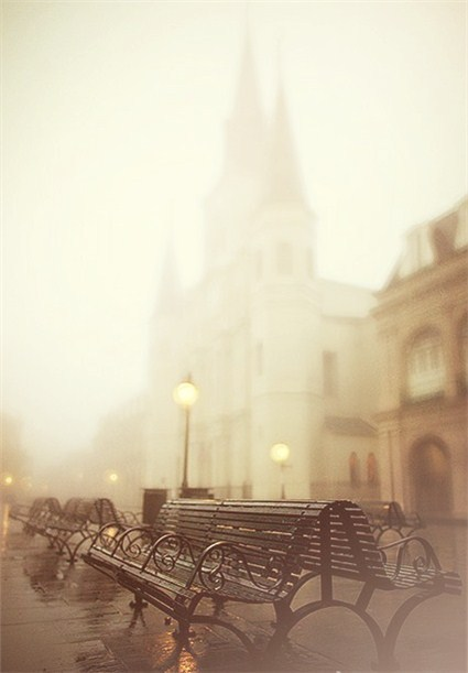 Fog, New Orleans, Louisiana