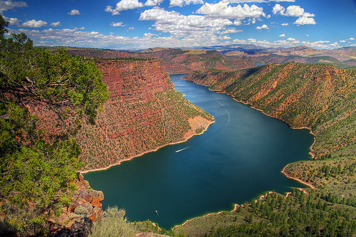 Flaming Gorge Reservoir, Wyoming