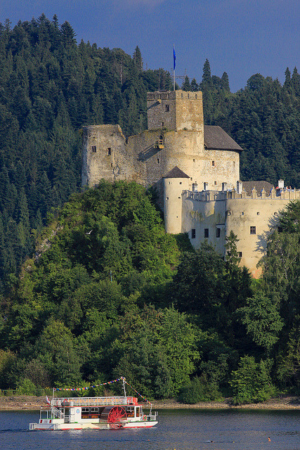 Niedzica Castle in Pieniny Mountains, Poland
