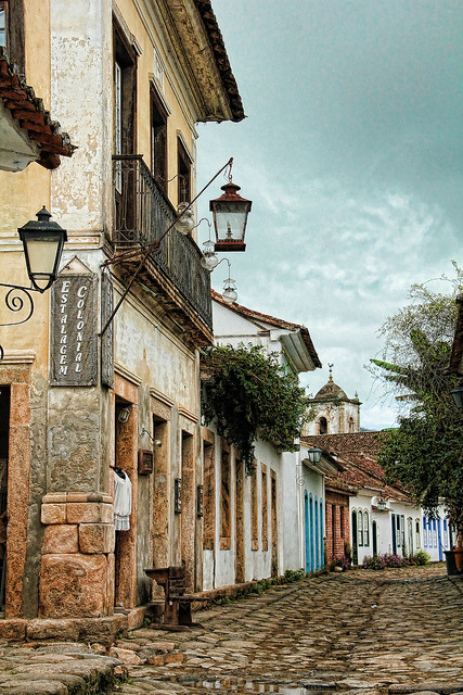 Historic city of Paraty, Costa Verde / Brazil