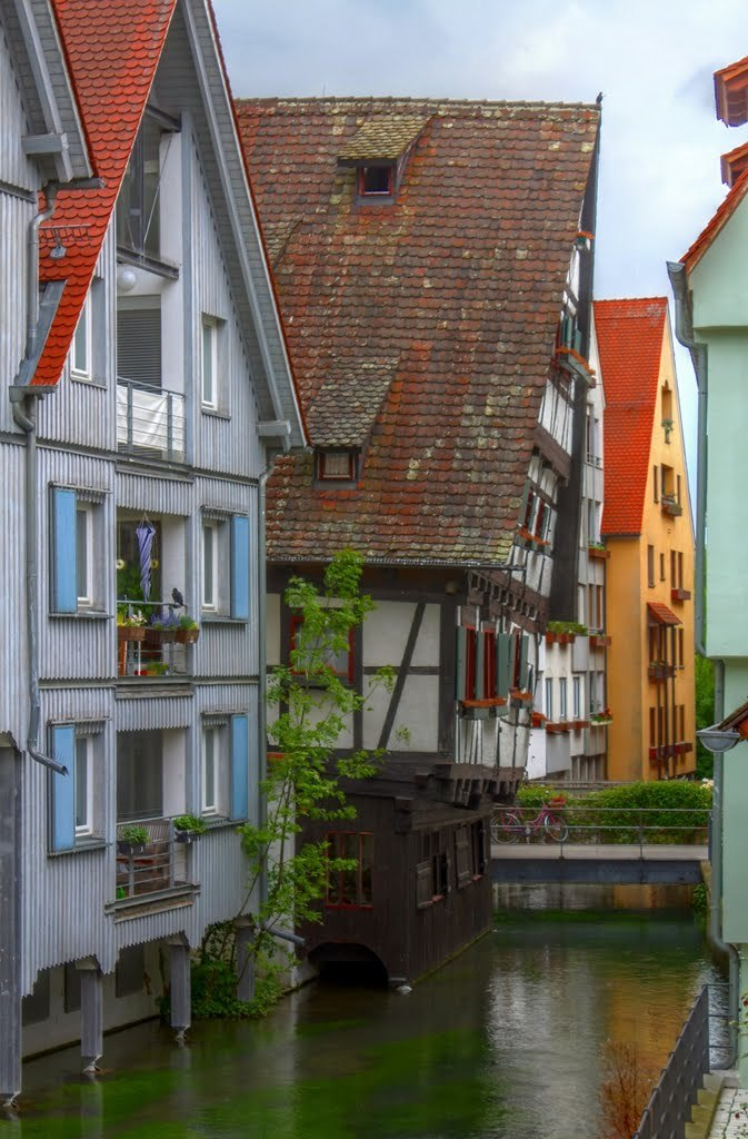 Leaning house, Ulm / Germany