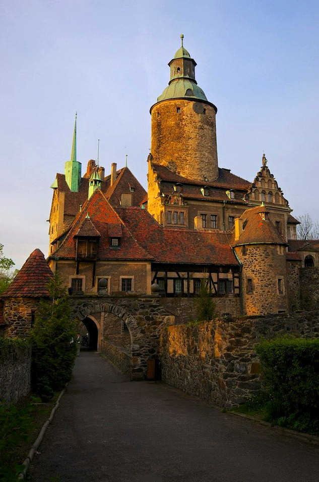 """Czocha Castle, Lower Silesia / Poland ."""